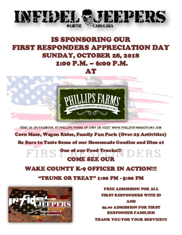 first responders day 2018